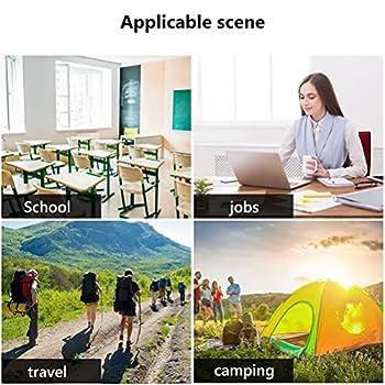 YueWan Lot de 5 boîtes de papier jetables portables avec des feuilles de savon, papier de savon de voyage, papier moussant, mini feuilles pour laver les mains, toilettes de camping