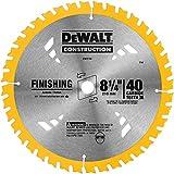 DEWALT 8-1/4-Inch Circular Saw Blade, ATB Thin Kerf with 5/8-Inch Arbor, 40-Tooth (DW3184)