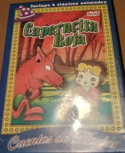 Caperucita Roja más 3 cuentos de hadas, el zapatero y el Gnomo, El mago de Hoz,...