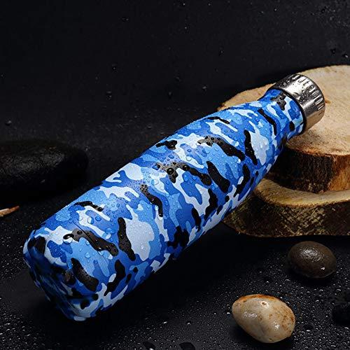 Isolierte Wasserflasche Sternentasse Edelstahl Saugnapf Cola Sport Wasser Trinkflasche Werbegeschenk Glas Botella