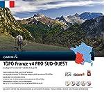 Garmin - Carte TOPO France V4 Pro - ¼ de France Sud-Ouest