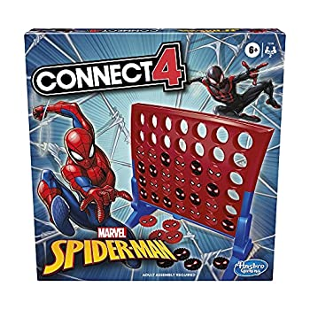 Hasbro Gaming Connect 4 Game  Marvel Spider-Man Edition Connect 4 Gameplay Strategy Game for 2 Players Fun Board Game for Kids Ages 6 and Up  Amazon Exclusive