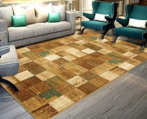 ZXL Badmat, wasmatten en stofzuiger, Amerikaanse rechthoekige, moderne salontafel voor woonkamer, tapijt voor een slaapkamer