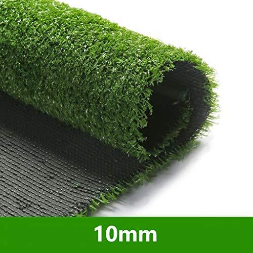 YNGJUEN 10 mm Pelouse Artificielle Tapis Vert Mat Artificielle Faux Gazon Toit Balcon Fruit Crème Solaire Boutique Décoration (Size : 2mx11m)