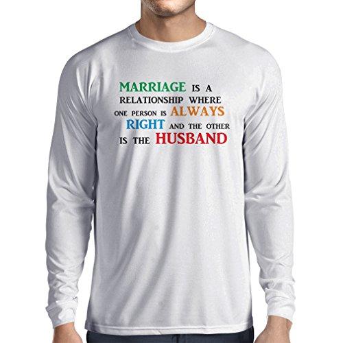 lepni.me Camiseta para Hombre Día De la Boda Despedida de Soltera o Regalo Divertido de Aniversario (X-Large Blanco Multicolor)