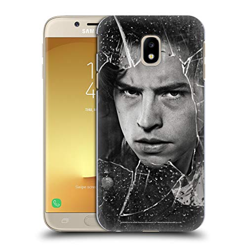Head Case Designs Officially Licensed Riverdale Jughead Jones Broken Glass Portraits Hard Back Case Compatible with Samsung Galaxy J3 (2017)