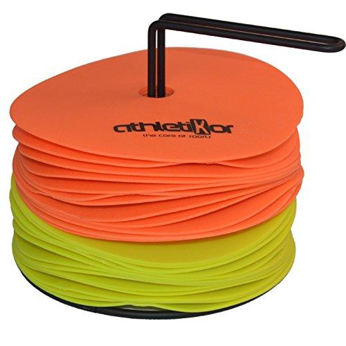 Floormarker 15 cm 24'er Set_orange und gelb von athletikor