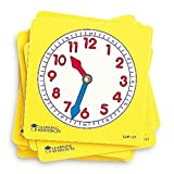 Learning Resources- Cadrans d'Horloge pour Les élèves - Jeu de 10, LER0112 -...