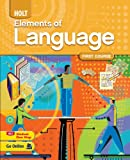 Holt Elements of Language Homeschool Package Grade 7 (First Course)
