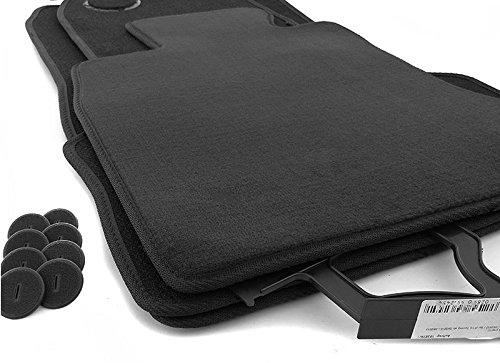 Fußmatten F10 F11 Automatten Set (Velours) Original Qualität 4-teilig schwarz inl. Befestigung