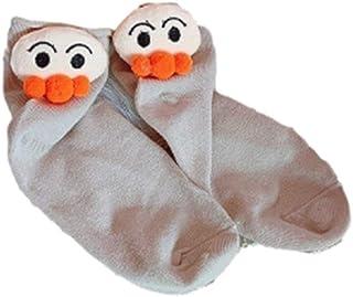 6PCS de la manera coreana calcetines ocasional linda en medias Pila Pila calcetines masculino y femenino par de calcetines de algodón Cómodo ligero