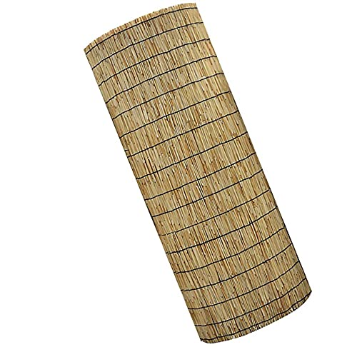 MIED Bambú Valla, Valla de JardíN Natural de Caña, Rollo de ProteccióN, Borde de Privacidad, Viento, ProteccióN Solar, para Villa, BalcóN, Patio, Piscina