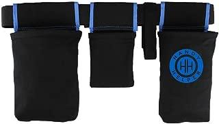 Handy Helper Tool Belt, Organizer, Carrier for Home, Garden, RV - Blue Piping
