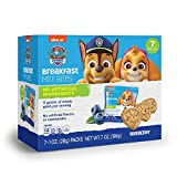 Paw Patrol Blueberry Breakfast Bites Snack Packs for Kids Birthday Party Supplies, Lunch snacks, and Vacations, 1 oz Bags, Box of 7