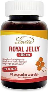 Sponsored Ad - Lovita Royal Jelly 1000mg, 20mg 10-HDA, 60 Vegetarian Capsules