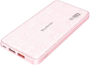 Yoobao Portable Charger 12000mAh Ultra Slim Power Bank Q12 Qualcomm Quick Charge 3.0 External Battery Pack Fast Charge Pow...