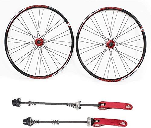 YANGDONG-Bicicleta para niños- Neumáticos de las ruedas para bicicletas Rembosque MTB Wheelset de 29 pulgadas trasera / frente, bicicleta de montaña ruedas de bicicleta ultraligero ultraligero doble p