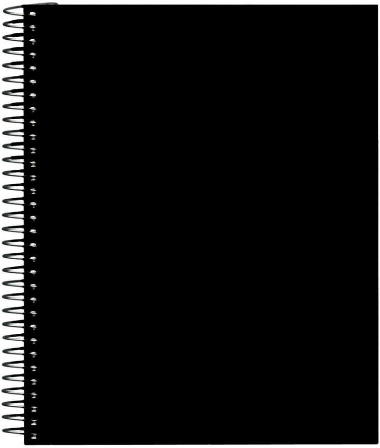 Winsor & Newton WN6679234 - Cuaderno de anillas, A5, color negro