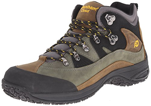Dunham Men's Cloud Mid-Cut Waterproof Boot, Grey - 12 4E US