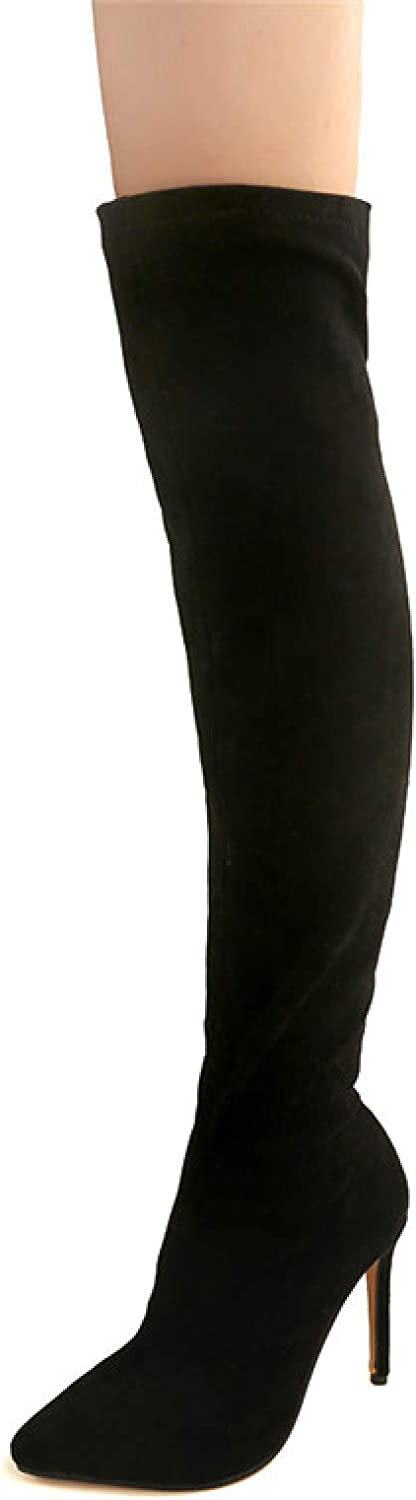 Women's Slim Thigh High Over Manufacturer OFFicial shop The Boots Lady Knee Stilettos Sexy Award-winning store