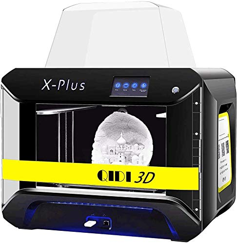 QIDI TECH Large Size Intelligent Industrial Grade 3D Printer :X-plus, Touchscreen,WiFi Function,High Precision Printing with ABS,PLA,TPU,Flexible Filament,270X200X200mm