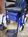 Unter Rollstuhl Tasche - Navy Blue -
