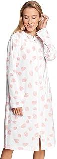 Rösch New Romance 1213094-16585 Women's Modern Leaves Cotton Robe
