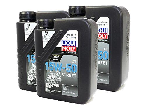 LIQUI MOLY Motoröl High Performance 15W-50 3 x 1 Liter