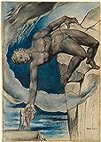 Spiffing Prints William Blake - Antaeus Setting Dante and Virgil - Extra Large - Matte Print