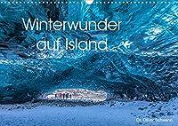 Winterwunder auf Island (Wandkalender 2022 DIN A3 quer): Traumhafte Winterlandschaften auf Island laden Monat fuer Monat zum Staunen ein. (Monatskalender, 14 Seiten )