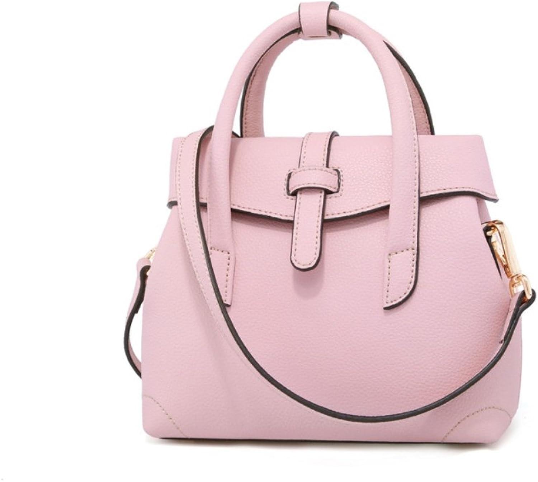 HIFISH HB110087 Genuine Leather Korean Version Women's Handbag,ShellShaped Roman Package