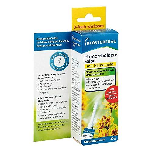 KLOSTERFRAU Hämorrhoidensalbe 30 g Salbe
