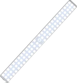 78 LED Closet Light, Newest Version Rechargeable LED Motion Sensor Under Cabinet Lights Wireless Night Lighting for Kitche...