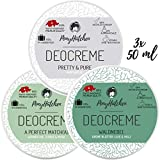 3x 50 ml - Bestsellerset - Naturkosmetik Deo Creme ohne...