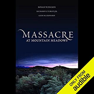Massacre at Mountain Meadows  audiobook cover art