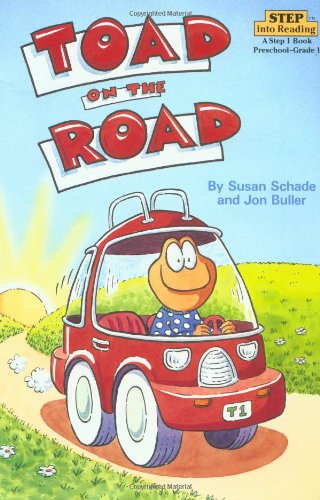 Toad on the Road (Step-Into-Reading, Step 2) (Paperback)の詳細を見る