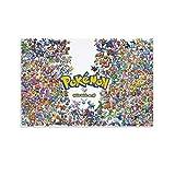 ASDFX Pokemon 1 Poster, dekoratives Gemälde, Leinwand,