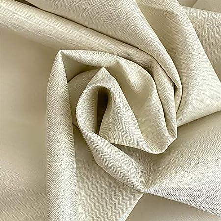 カーテン 1級遮光 防音 遮熱 無地 2枚組 巾100cm×丈178cm リトリート アイボリー