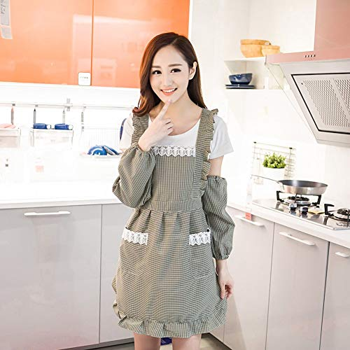 Retro tassen van gelukt katoen, tassen voor babyslabbetjes, schort voor dames, geschikt voor koken en koken
