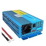 Yinleader Convertisseur 12v 220v Pur Sinus 2400W onduleur 12V 230V LCD LED