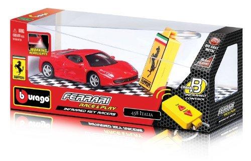 Bburago - 31225 - Véhicule Miniature - Radio Commande - Ferrari Key Racers - Echelle 1/43