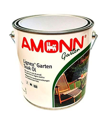 Amonn color Lignex Garten Teak Oel Amonn - 2,50 l