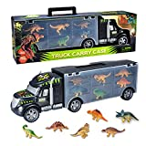 ToyVelt Dinosaurs Transport Car Carrier Truck Toy with Dinosaur Toys Inside - The Best Dinosaur Toy For Boys And Girls...
