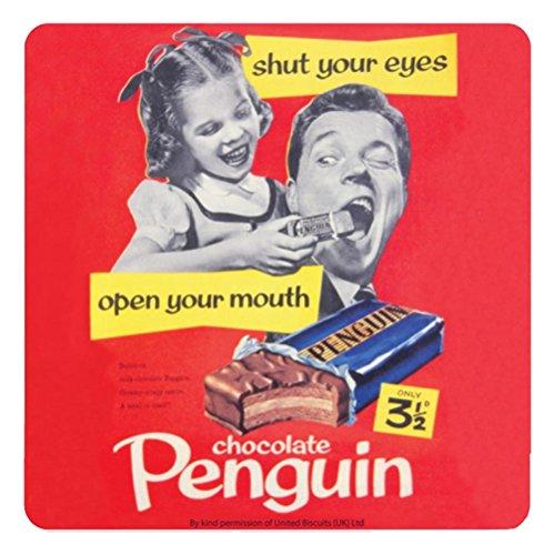 Pinguin Kekse Single Untersetzer