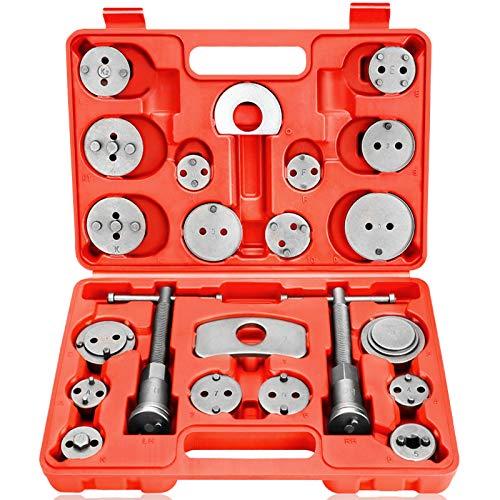 Dainty Bremskolbenrücksteller Universal Kolbenrücksteller 22 TLG KFZ Werkzeug Koffer Set...