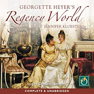 Couverture de Georgette Heyer's Regency World