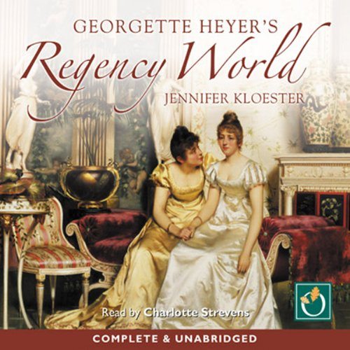 Georgette Heyer's Regency World cover art