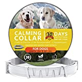 Howan Calming Collars for Dogs- 30 Days Protection for Dogs Adjustable Reduce Anxiety Collar, Long Lasting Calming Effect 100% No Allergy 100% Natural Calm Dog Collars