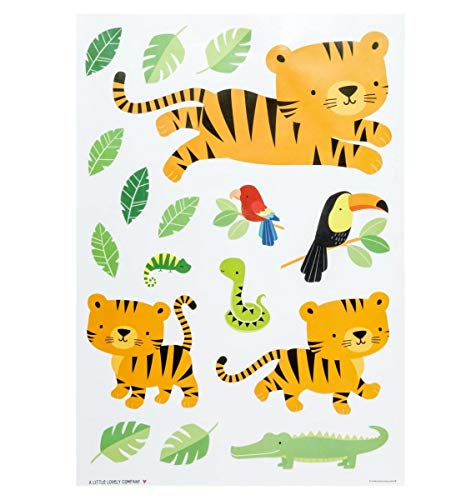 Stickers muraux Tigre - A Little Lovely Company