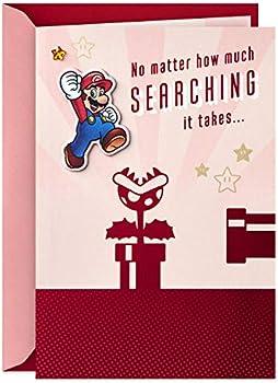 Hallmark Nintendo Super Mario Valentine's Day Card
